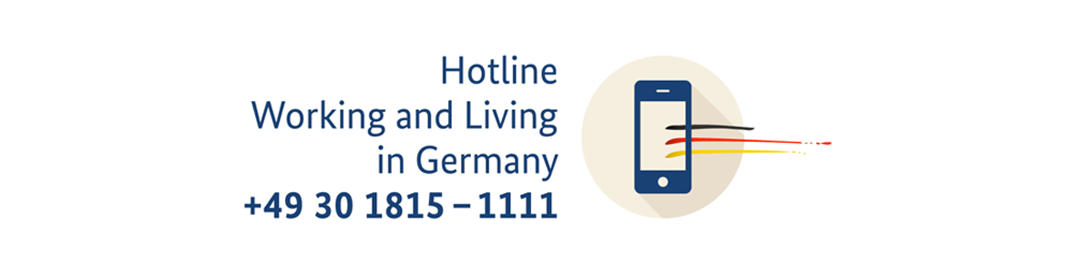 [Translate to english:] Hotline Working and Living in Germany